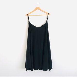 Torrid Black Spaghetti Strap Dress Sz 4